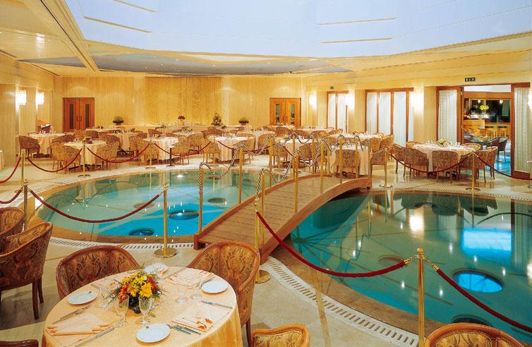 Ristorante per cerimonie e cena di gala a roma grand hotel duca d 39 este - Ristoranti con giardino roma ...
